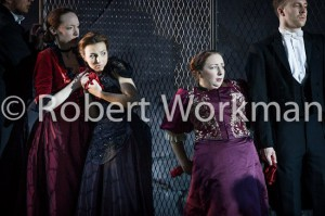 Opera Holland Park - Lucia di Lammermoor - 2012 - Chorus and Lucia's Cover
